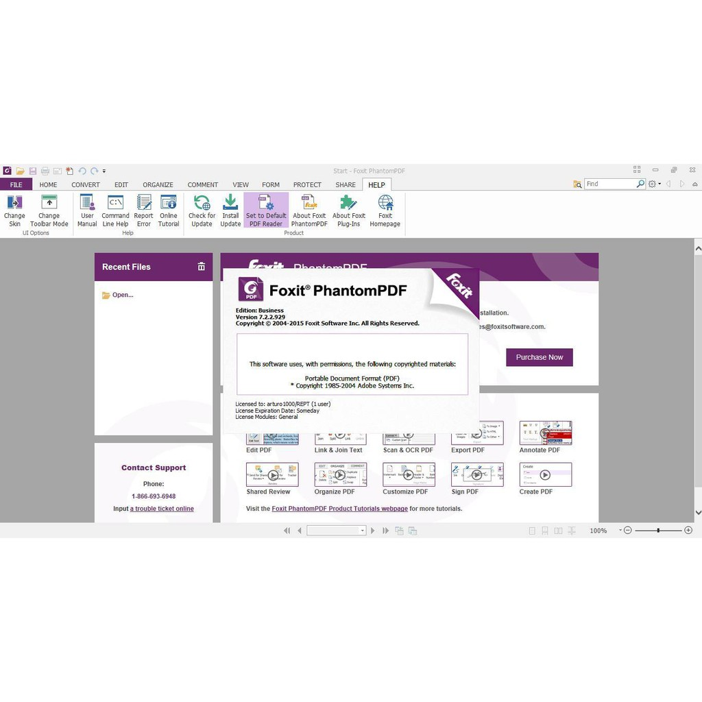 foxit phantompdf express for hp free download