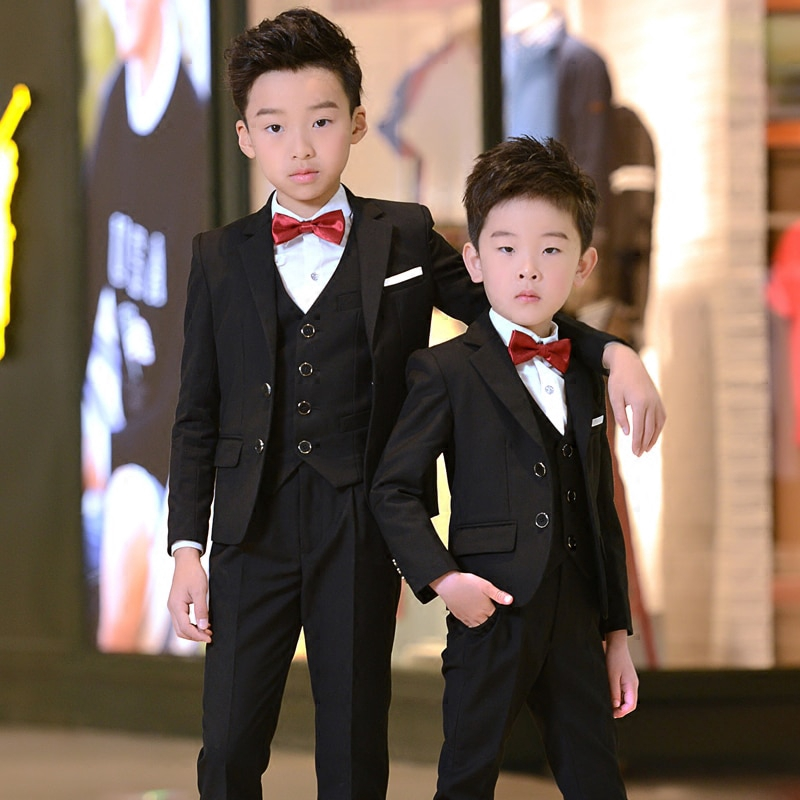 Candy Color Baby Prom Suit Bright Pink Blue Kid Blazer Boys Party Formal Tuxedos