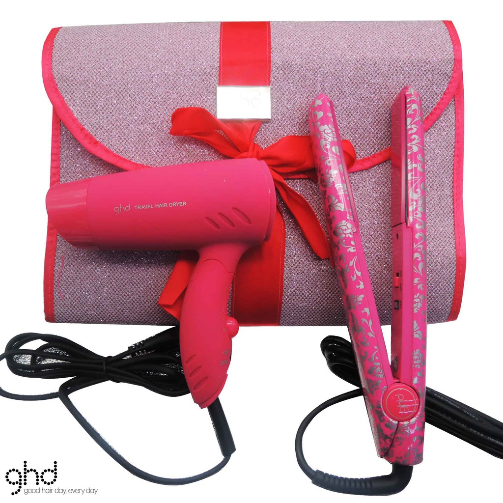 GHD Limited Edition Gift Set With Hair