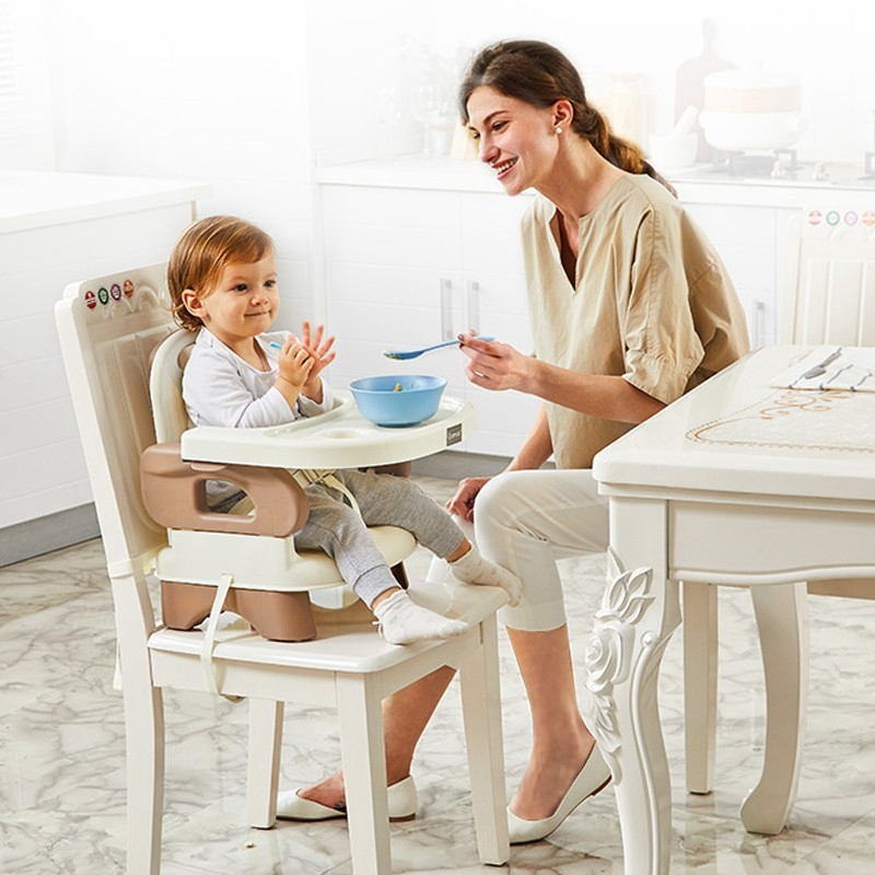 Baby Booster Seat Portable Baby Dining Chair And Table Shopee Malaysia