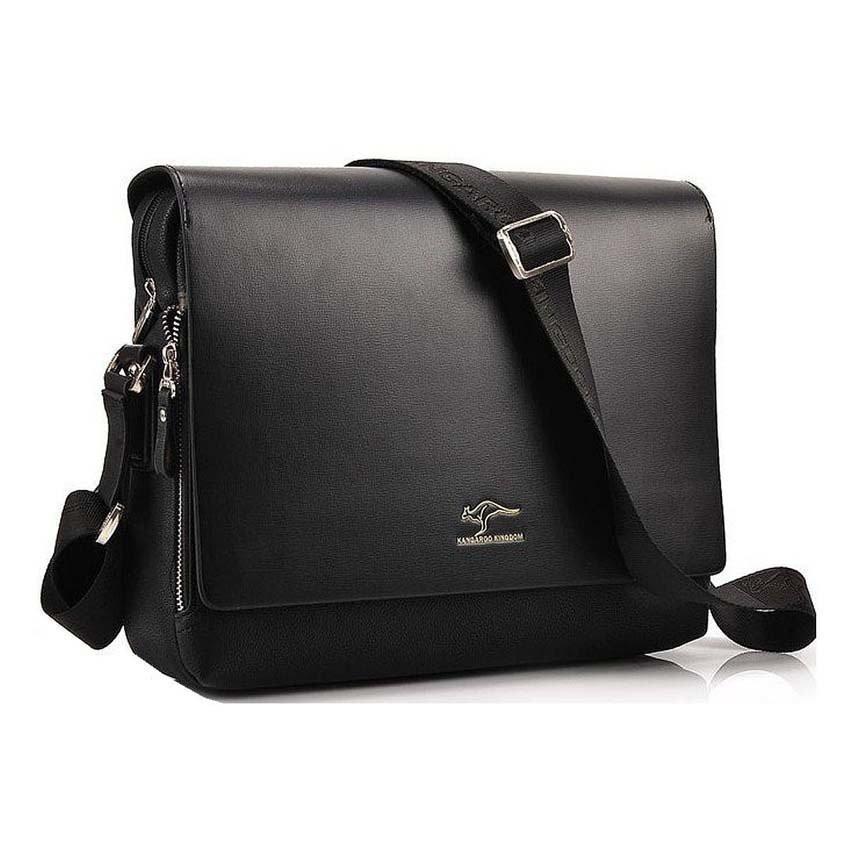 Pabojoe Premium Cowhide Real Leather Royal Handy Pouch Bag  017cab192f6bc