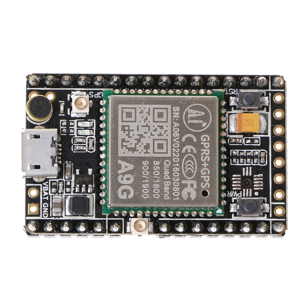 A9G GSM/GPRS+GPS/BDS Development Board Wireless Data  Transmission+Positioning