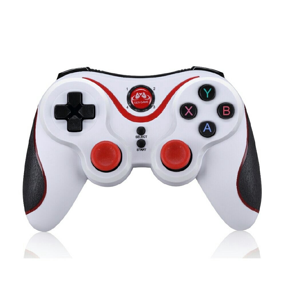 GEN GAME S5 Bluetooth Wireless Gamepad Game Controller Support Windows Android Complete Set