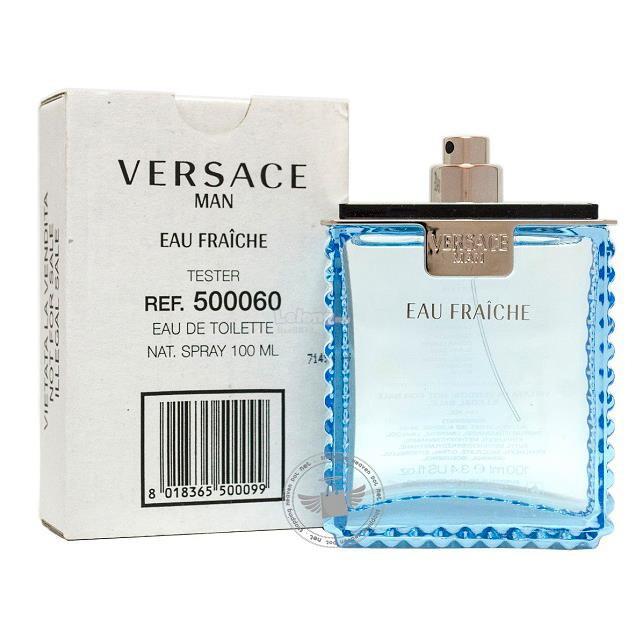 Man Versace Fraiche 100ml Edt Tester Eau nP0kwO