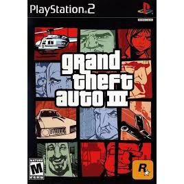 PS2  GTA Grand Theft Auto 3 / San Andreas / Vice City  [Burning Disk]