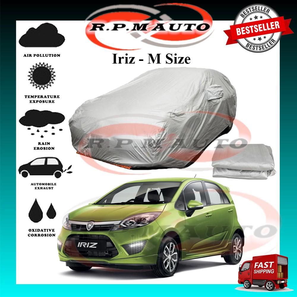 Proton Iriz High Quality Yama Car Covers - Size M (460x180x119cm) selimut kereta iriz car cover iriz