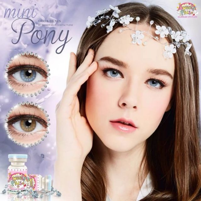 Contact Lens - Mini Pony (BROWN/GRAY) | Shopee Malaysia