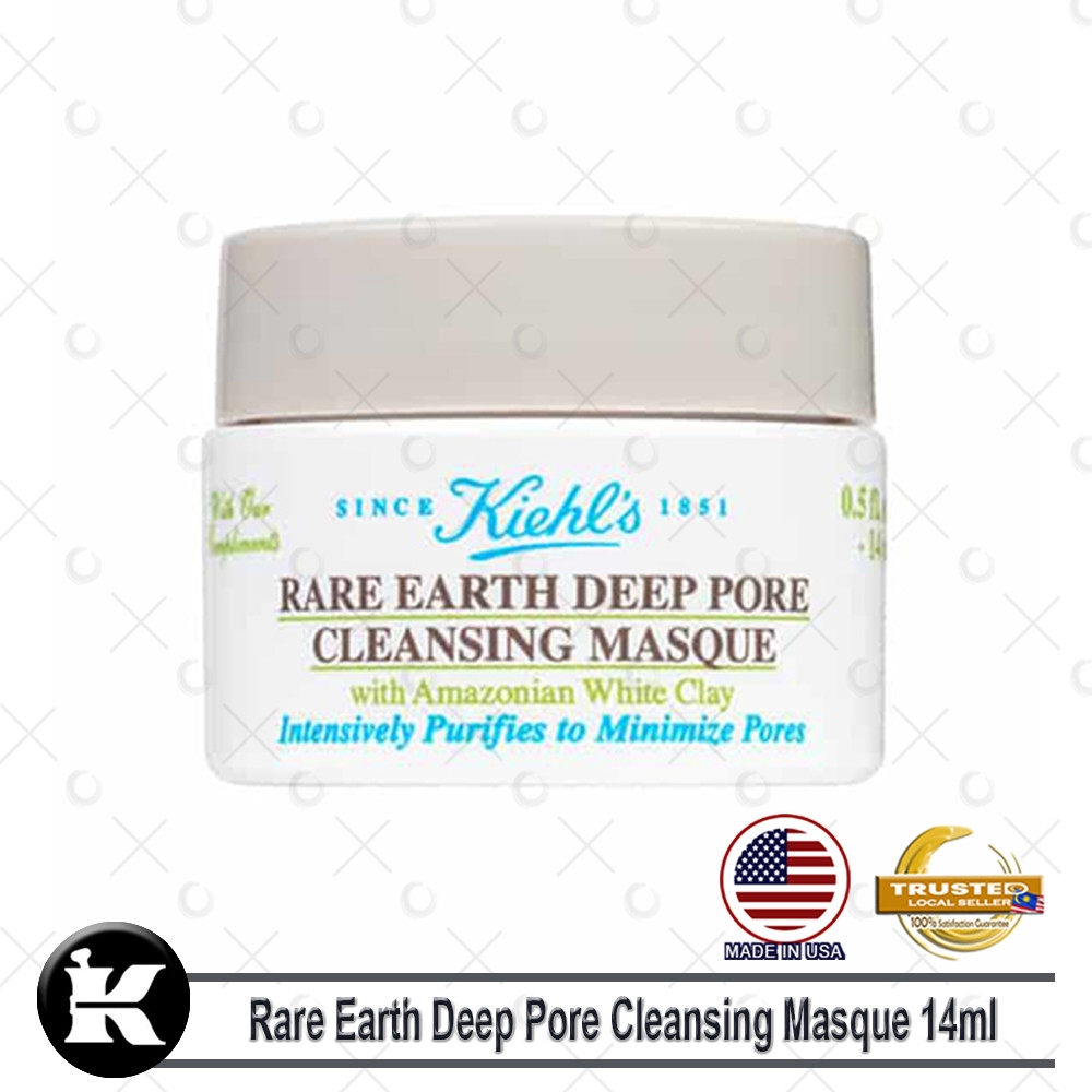 Kiehls / Kiehl's Rare Earth Deep Pore Cleansing Masque 14ml (Trial Size)