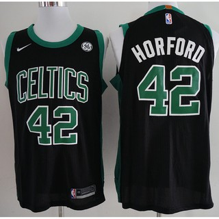 check out 2ec63 a62c0 Nike NBA Boston Celtics Al Horford #42 black basketball jersey S-XXL