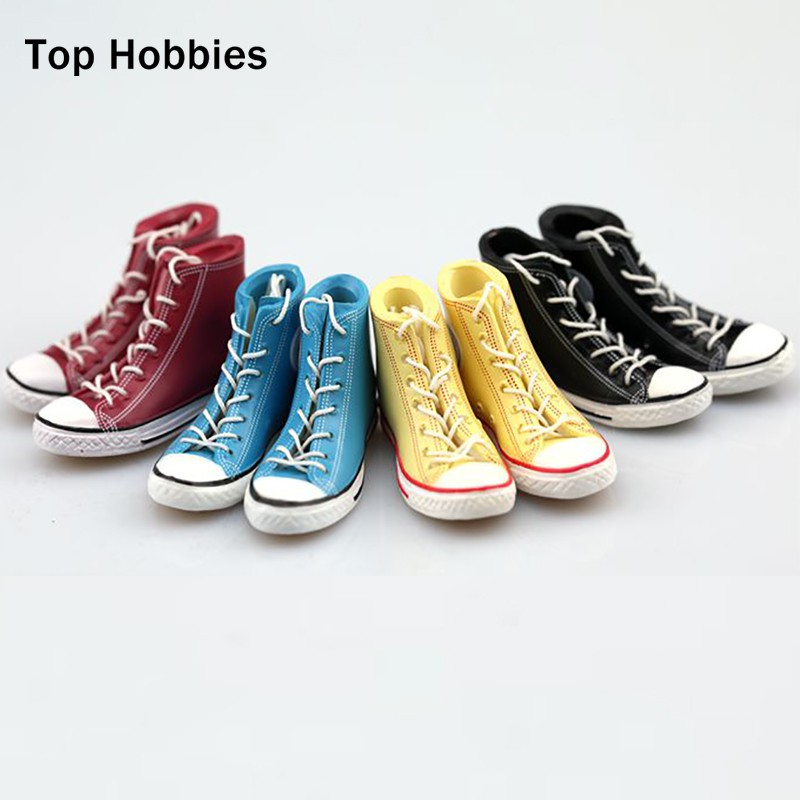 1//6 WHITE Converse All Star Sneakers Shoes HOLLOW for 12/'/' FEMALE figure doll