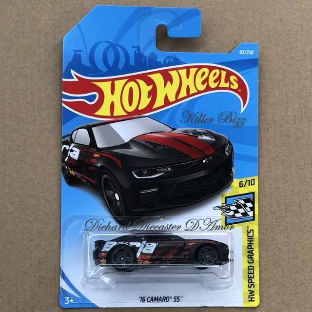 Hot Wheels Case C 2019 71 18 Copo Camaro Ss 510 Muscle Mania Hw