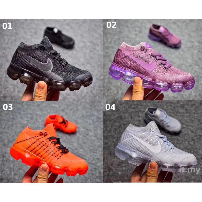 separation shoes f3a89 d7da6 *lbjames* Nike Kids Shoes Air Vapormax Flyknit Childrens Original Sports  Shoes Ready Stock