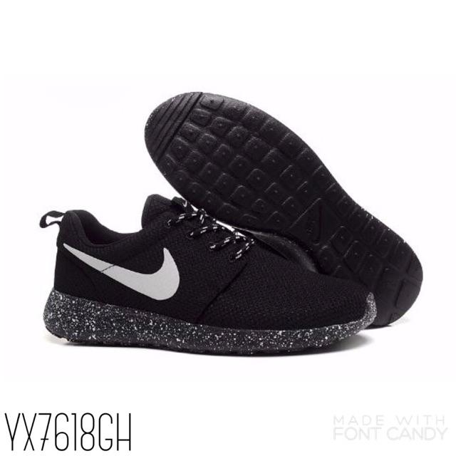 buy online 97db2 cdbcb ... reduced nike roshe run galaxy black kasut sukan nike sportshoes running  shoes shopee malaysia d450c e16bc