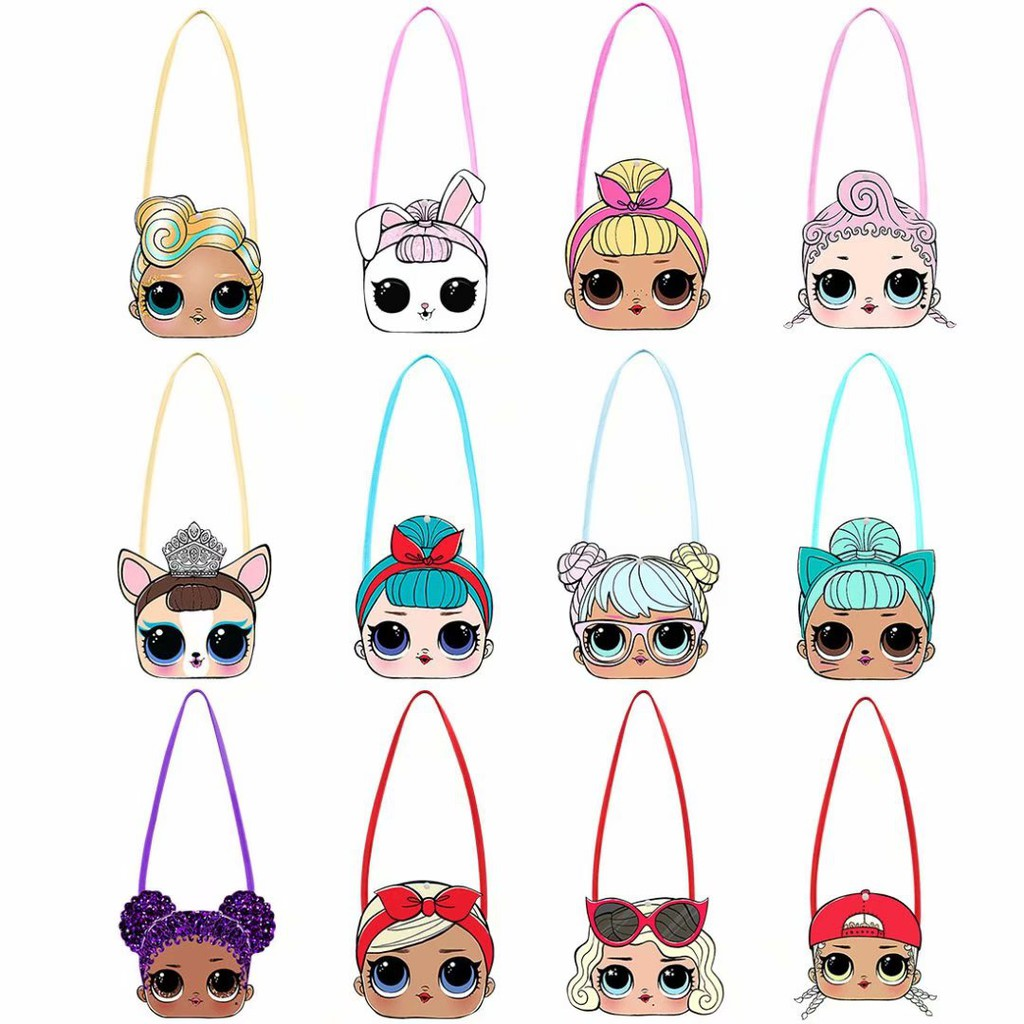 Kids Child Bag Cartoon Lol Surprise Doll Toddler Girls Sling Cross