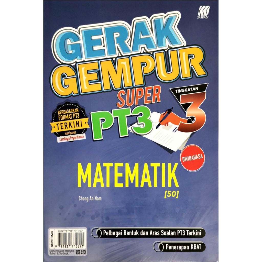 Jawapan Gerak Gempur Pt3 Matematik Tingkatan 2 | Adinasinc