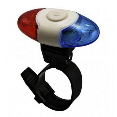 Bicycle LED Lights Bike Rear Tail Light SecuritySafety Light Blue and Red Xl-908