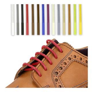 633c059389d8c Waxed Cotton Shoelaces Round Thin 2.5mm Dress Wax Cord Shoe Laces ...