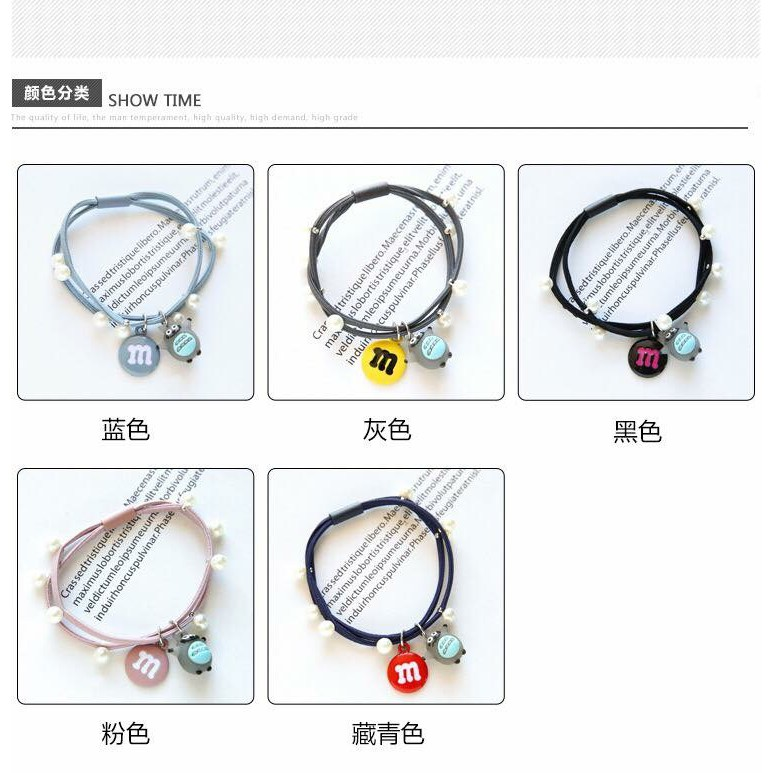 Hair Brand buy 5 pcs清货福袋韩式发圈5个