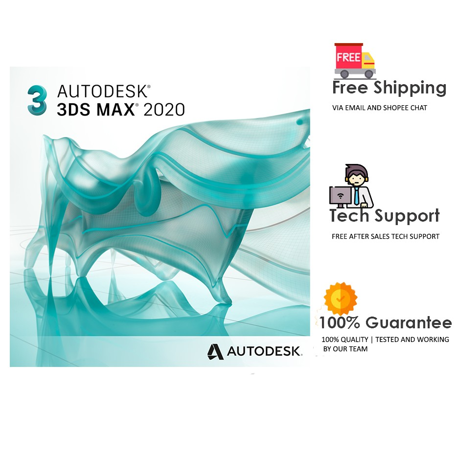 Autodesk 3DS Max 2020 | V-Ray Included | Offline Installer | Digital  Delivery