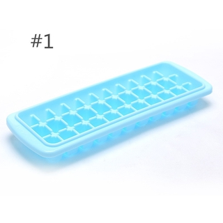 33 Ice Cubes Frozen Cube Bar Pudding Silicone Tray Mould Mold DIY Tool Home New