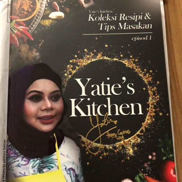 Yatie S Kitchen Recipe Book Shopee Malaysia