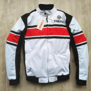 new style ee761 eac4d White Motorcycle YAMAHA Jacke Racing Team Winter Off-Road Coat