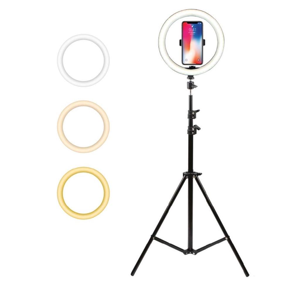 """10"""" Retractable Led Ring Light Portable Live Light  Youtube Tiktok Makeup Live"""