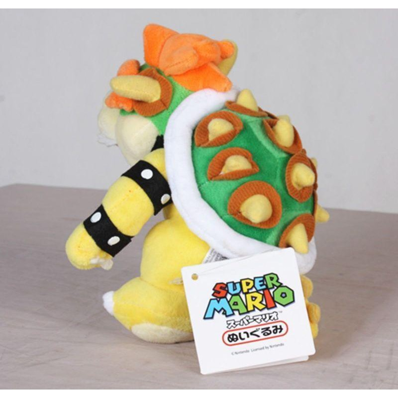 Tv Movie Character Toys Bowser King Koopa Plush Toy Funny