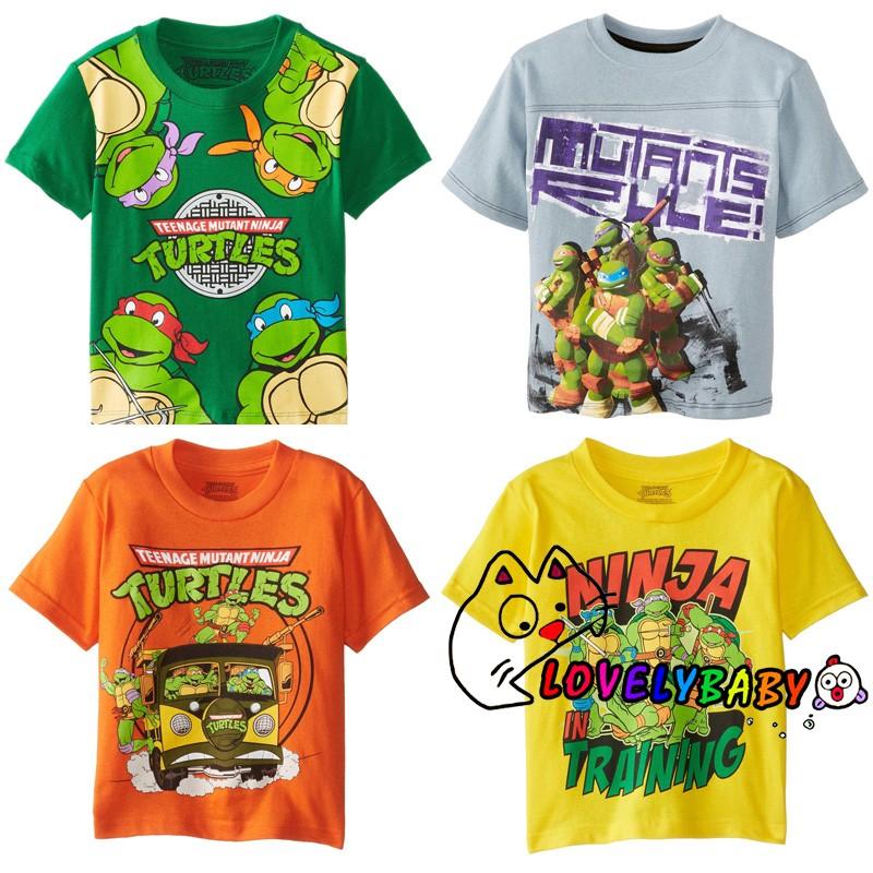 NEW Boys Small 6-7 Teenage Mutant Ninja Turtles Long Sleeve T-Shirt Beanie Hat