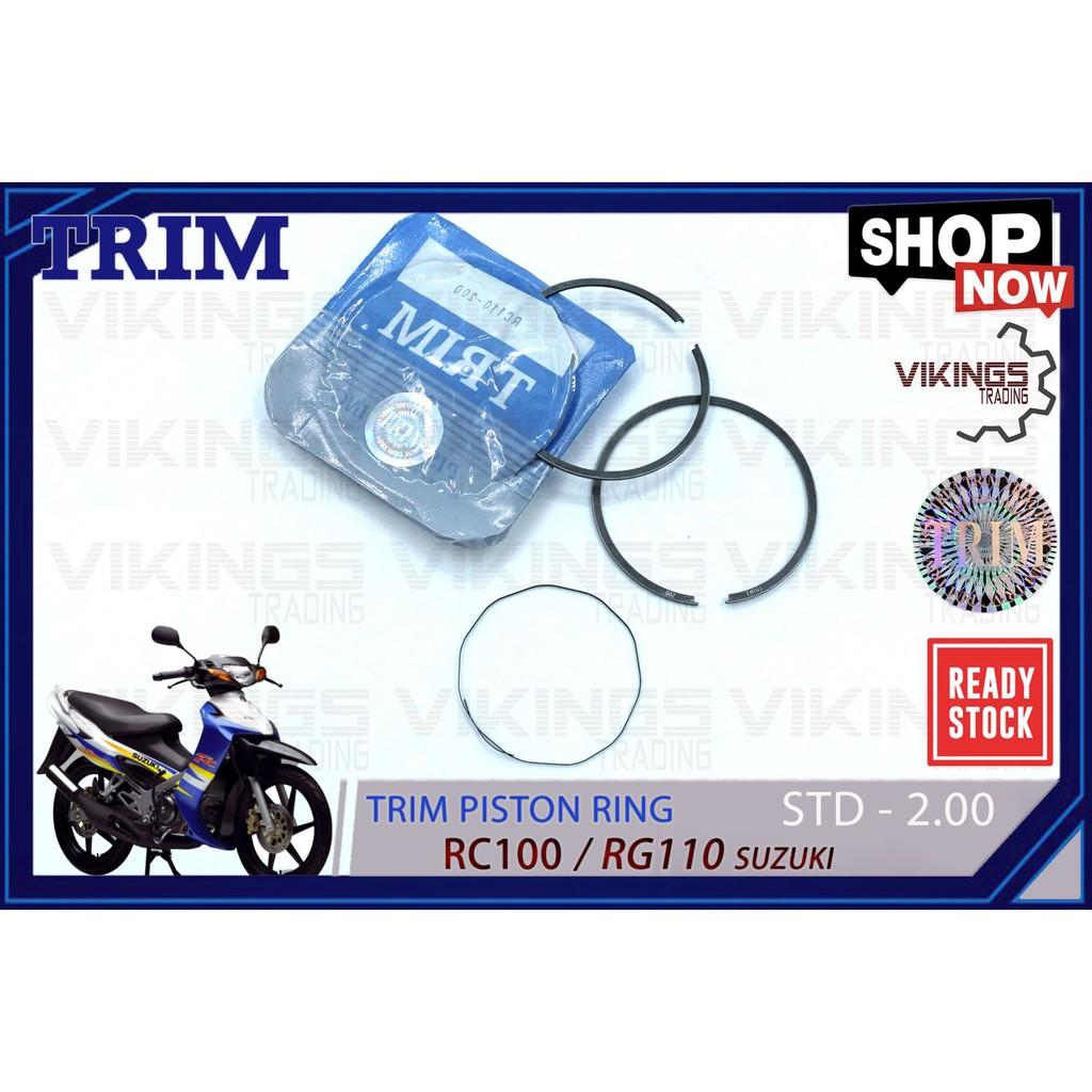 RC110 RG110 PISTON RING TRIM MALAYSIA SUZUKI RING RING