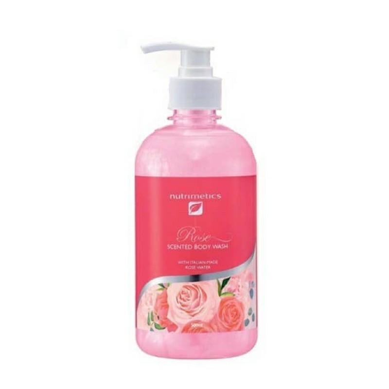 Nutrimetics Rose Scent Body Wash 500ml