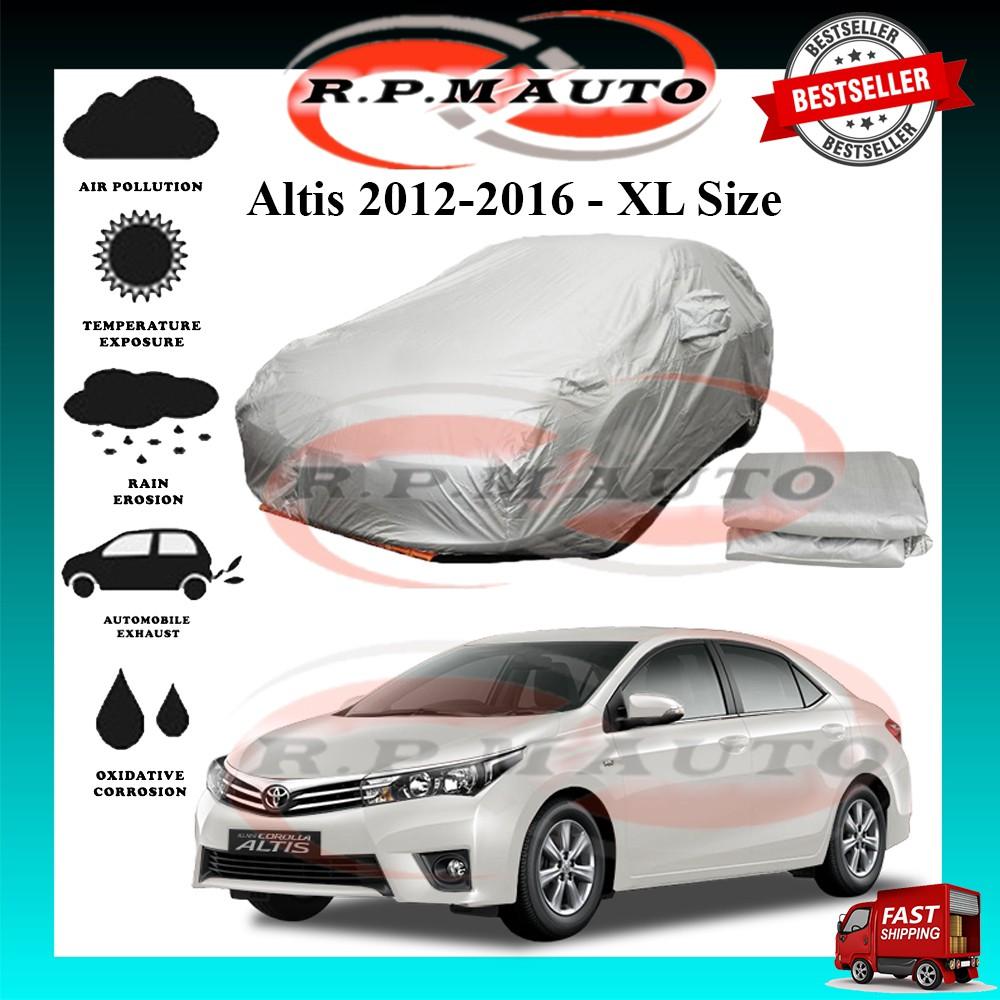 Toyota Altis 2012-2016 High Quality Yama Car Covers - Size XL (470x180x119cm) selimut kereta altis car cover altis