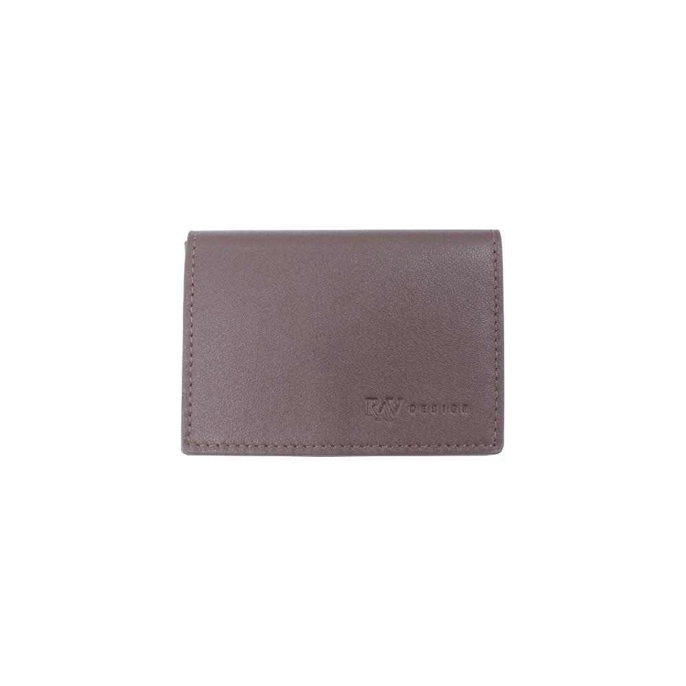 RAV DESIGN Men's Genuine Leather Anti-RFID Card Holder |RVW666G1 (A)/(B)