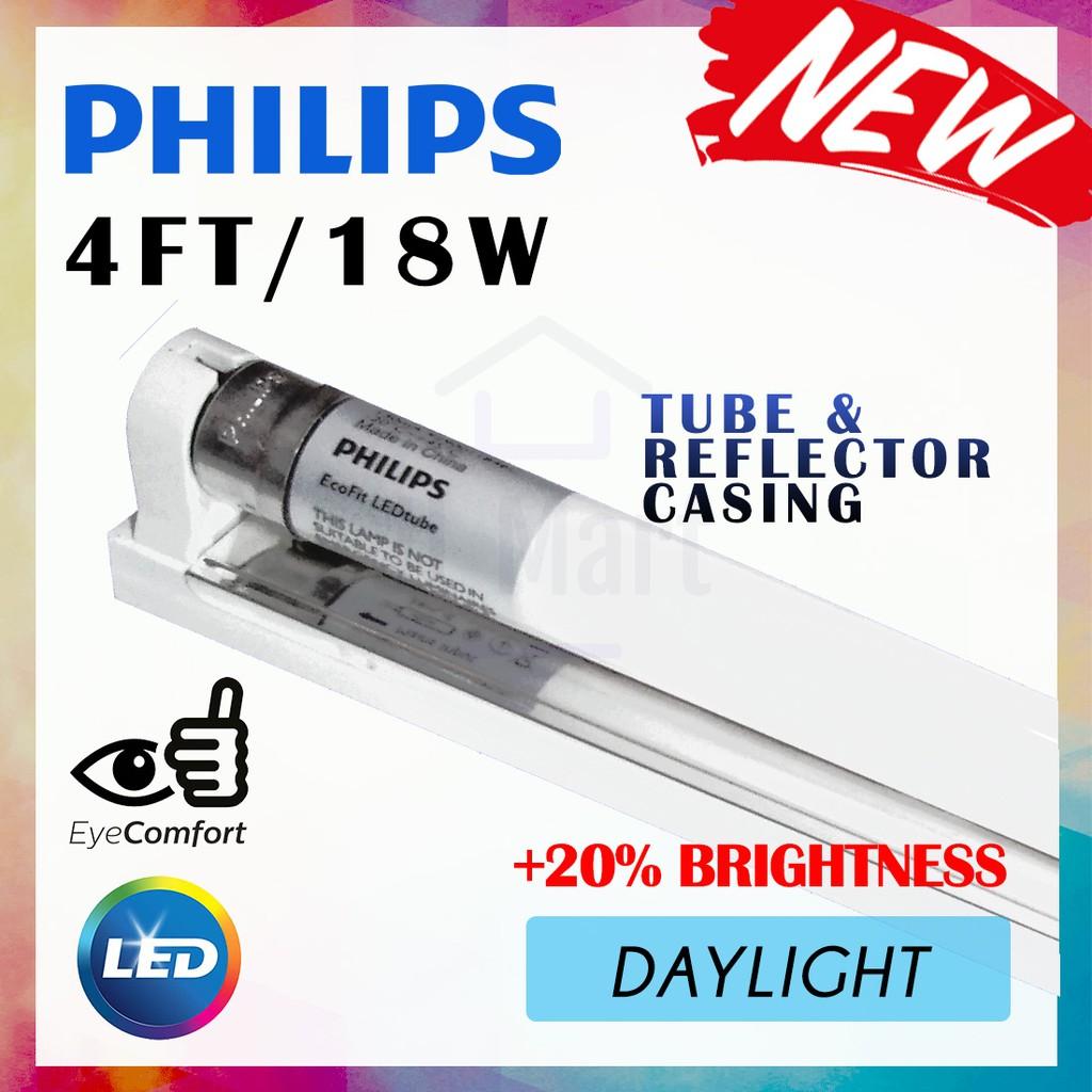 4ft 18w Ecofit T8 Gl Led Lampu