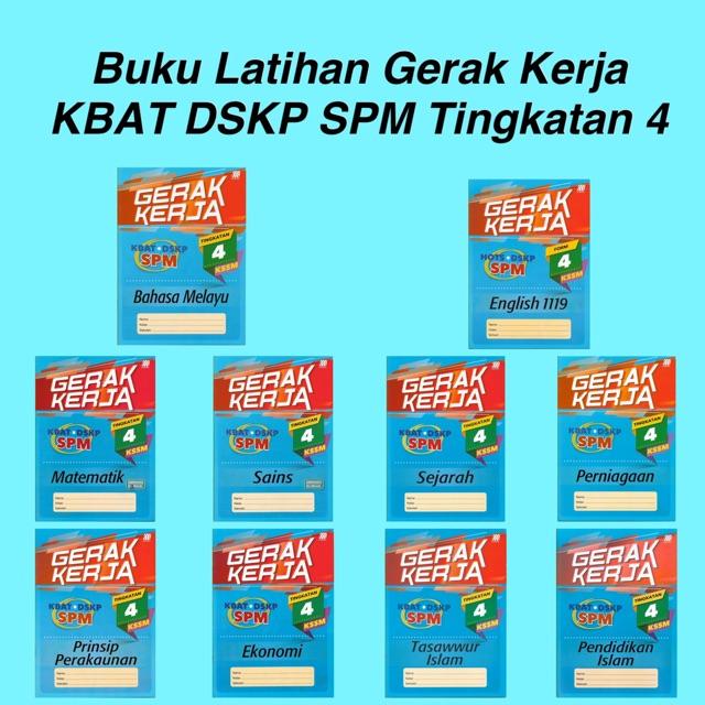 【READY STOCK】Sasbadi: Buku Latihan Gerak Kerja SPM ...