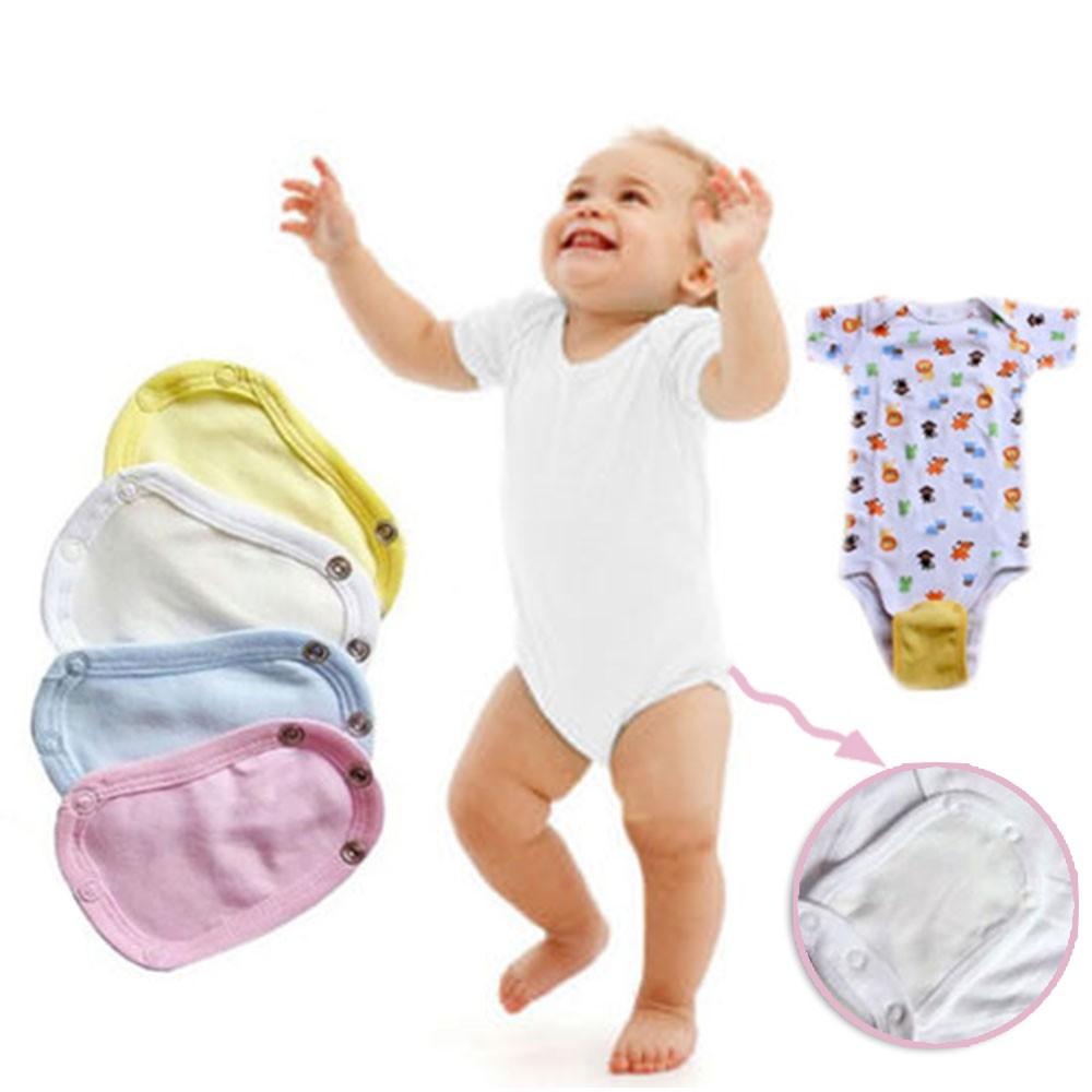 Baby Nappies 5pcs Baby Romper Partner Super Utility Bodysuit Jumpsuit Diaper Lengthen Extend Film Blue/white/yellow/pink