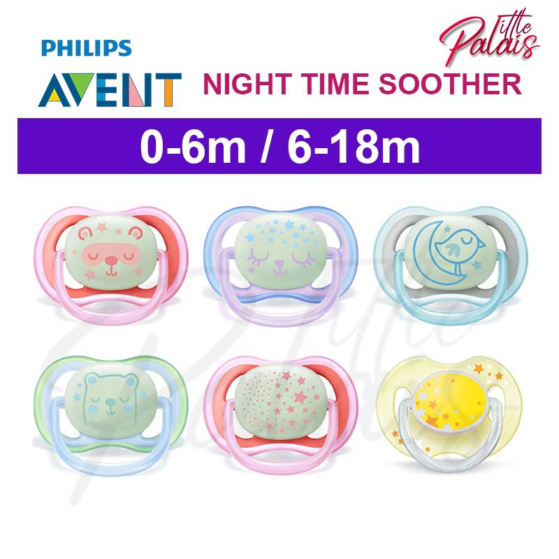 Philips Avent Classic Soothers 6-18m Boy