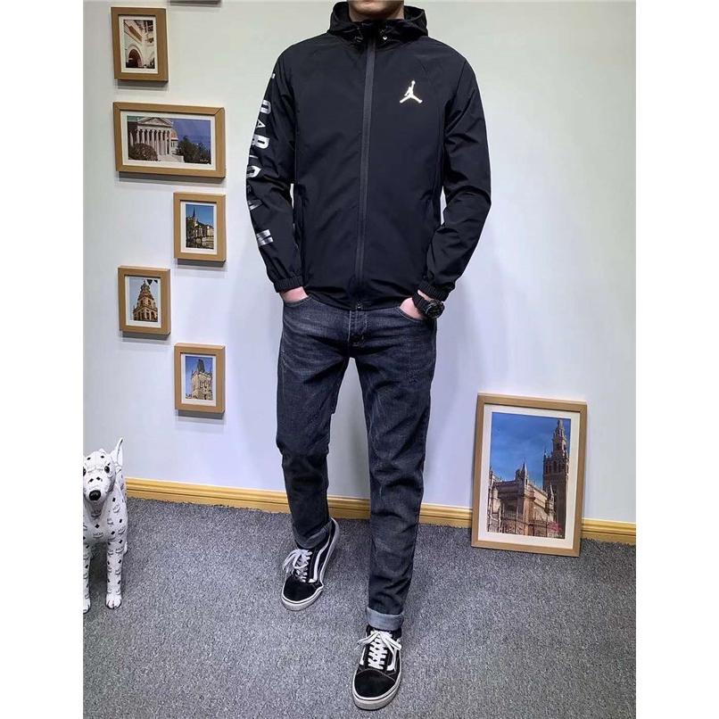 Nike AIR JORDAN Hooded Skinsuit Sports Jacket Windbreaker Jacket 939969 010
