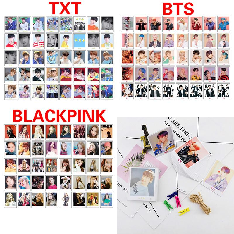 40pcs KPOP BTS TXT BLACKPINK LOMO Cards Photocard 2019 Album Map of