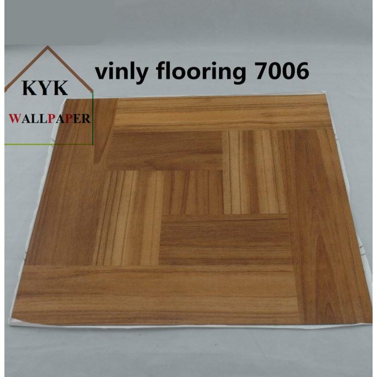 "TILE SELF ADHESIVE Beige Self Stick Vinyl Floor Tiles - 25 pcs X 12"" x 12"" | Shopee Malaysia"
