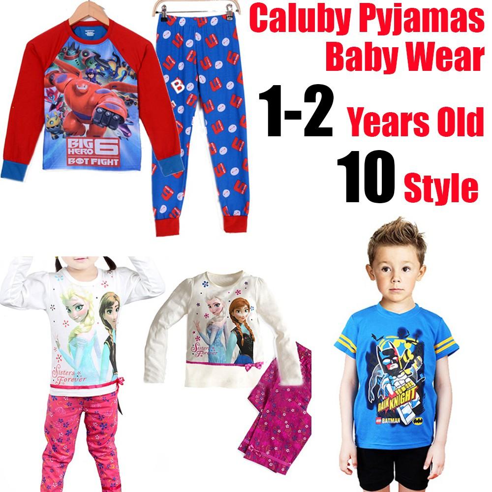 511c3b23e Fashion Frozen Kids Sleepwear Pajamas CALUBY Pyjamas Sleepwear Sets ...