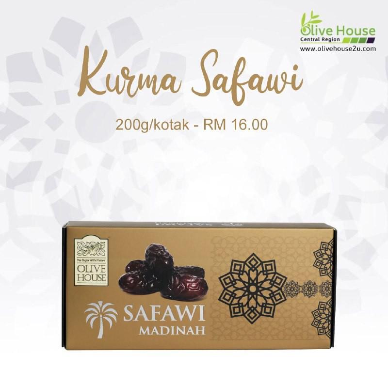 [FREE Shipping] SAFAWI DATES, Kurma Safawi Olive House (200 g)