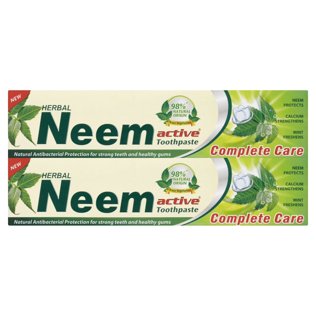 Neem Herbal Active Toothpaste Complete Care 2 x 200g (400g)