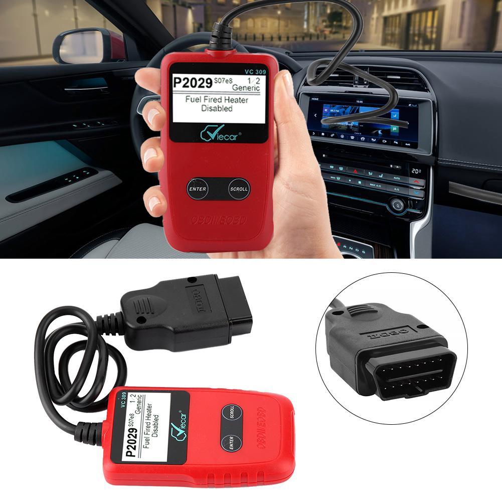 Scanner Fault OBDII Diagnostic Auto Engine Reset OBD2 Car VC309 Reader Code  Tool