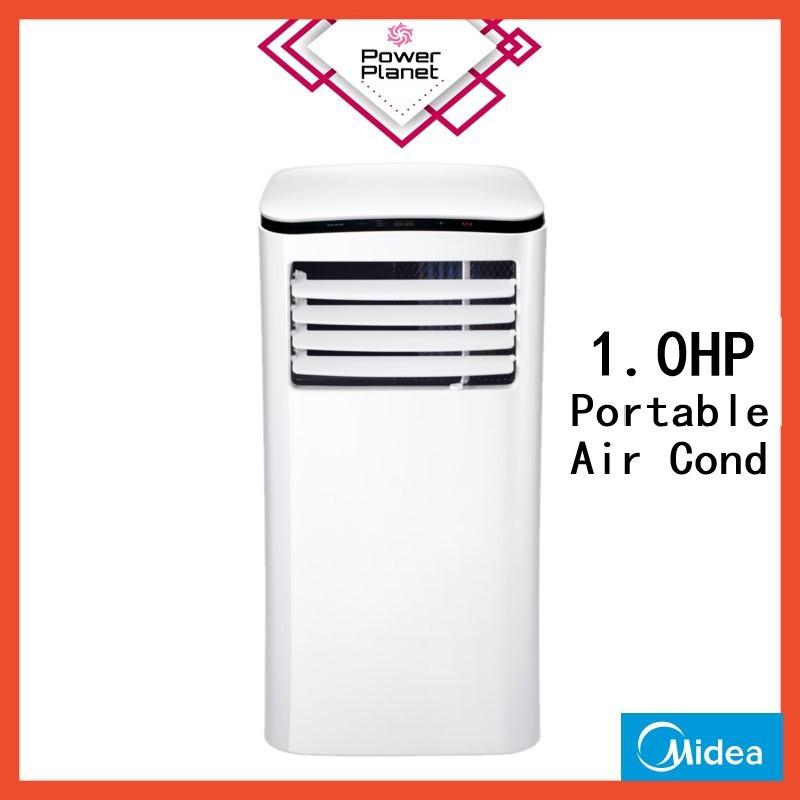 Midea 1.0HP Portable Air cond MPH-09CRN1- R410A (White)