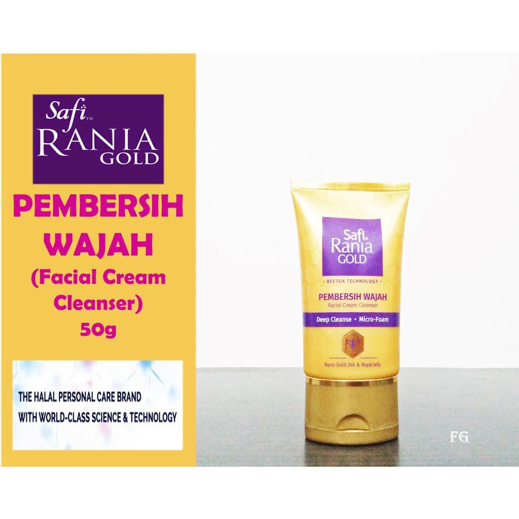 Safi Rania Gold Pembersih Wajah (Facial Cream Cleanser) 50g
