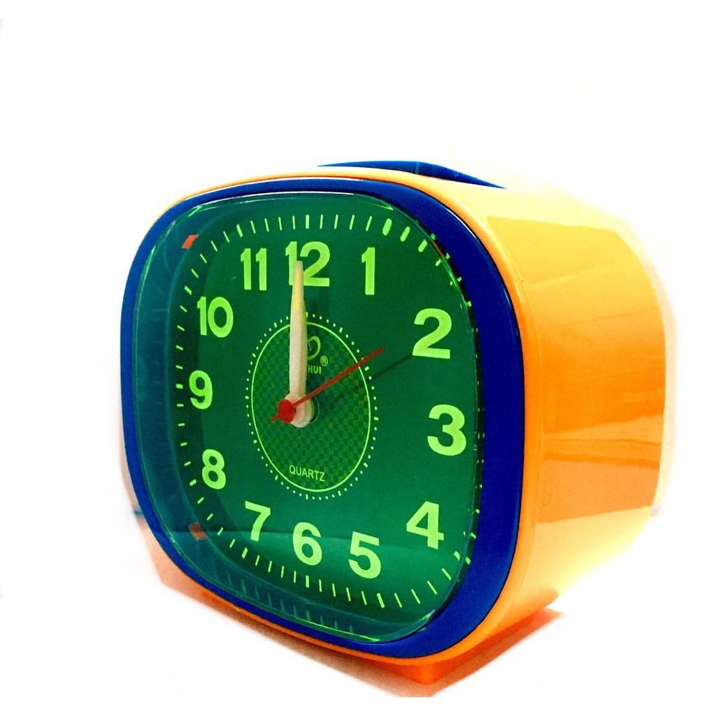 Globe Loud Sound Alarm Clock With Night Light BH107G