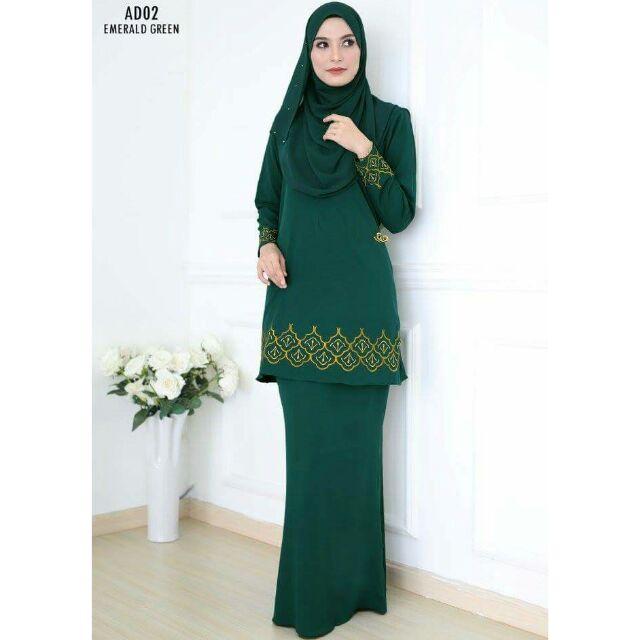 364228c9e5318 Emerald 😘 Kurung Modern Clarissa 2.0 | Shopee Malaysia