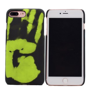 best website 72173 2b91b Magic Matte Hard PC Cover for iPhone 7 8 Plus Thermal Induction Discolored  Phone Case
