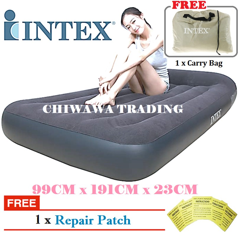 PROMOTION 64141  66767 INTEX Inflatable Bubble Air Mattress Relax Massage Air Bed Sofa